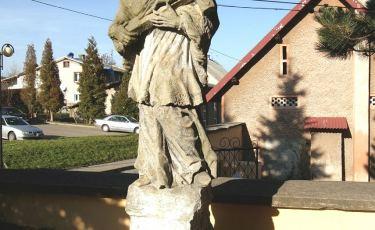Figurka św. Jana Nepomucena  (Fot. mateo)