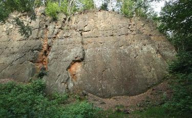 Kamieniołom Nowa Ziemia - Ściana Zachodnia (Fot. mateo)