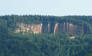 Kamieniołom piaskowca w Radkowie (Fot. krystian)