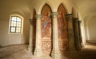Kaplica Św. Marii Magdaleny w Opactwie Cystersów w Krzeszowie (Fot. aga)