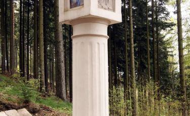Kapliczka kolumnowa Św. Anny (Fot. aga)