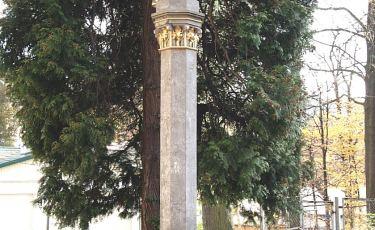 Kolumna z figurą Matki Bożej (Fot. mateo)