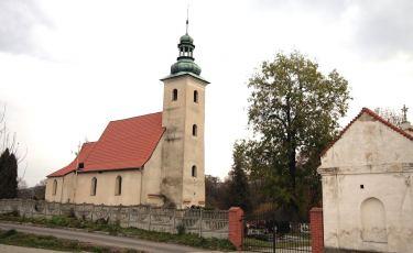 Kościół cmentarny św. Barbary (Fot. mateo)