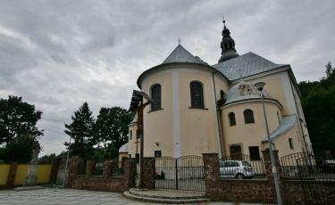 Kościół Świętej Katarzyny w Jugowie. (Fot. krystian)