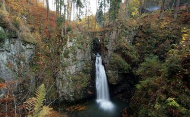 """Krajobrazowy Rezerwat Przyrody """"Wodospad Wilczki"""" (Fot. mateo)"""