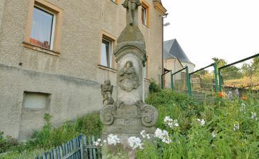 Krzyż przydrożny w centrum Niwy (Fot. krystian)
