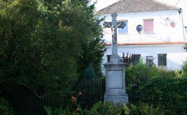 Krzyż przydrożny w Wolanach (Fot. krystian)