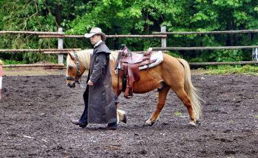 Rodeo i prawdziwy kowboj