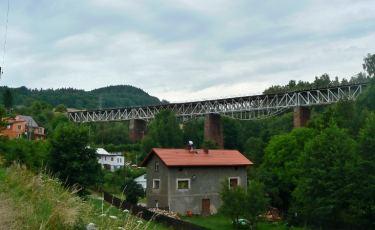 Most kolejowy w Ludwikowicach Kłodzkich (Fot. krystian)