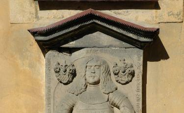 Nagrobek rycerza von Lossowa (Fot. Lucien Wende Licencja: CC BY-SA 2.0)