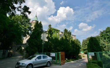Park zamku Leśny Kamień (Fot. krystian)
