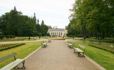 Park zdrojowy w Cieplicach dzisiaj.
