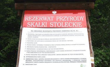 Rezerwat ścisły Skałki Stoleckie (Fot. krystian)