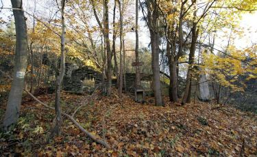 Ruiny kaplicy    (Fot. mateo)