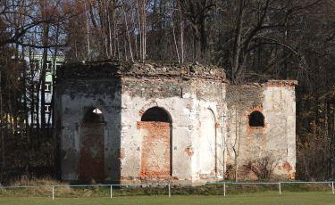 Ruiny  kaplicy św. Onufrego (Fot. mateo)