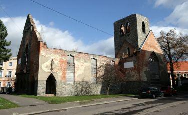 Ruiny kościoła ewangelickiego (Fot. mateo)