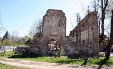 Ruiny Kościoła Ewangelickiego (Fot. aga)