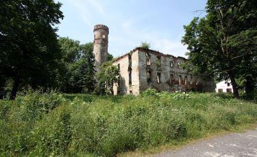 Ruiny Pałacu w Rudnicy (Fot. krystian)