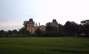 Ruiny pałacu w Stolcu (Fot. krystian)