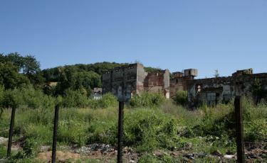 Ruiny Zakładu Przemysłu Lniarskiego (Fot. krystian)