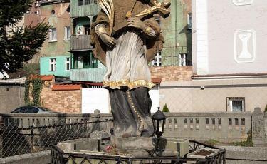 Rzeźba św. Jana Nepomucena (Fot. mateo)