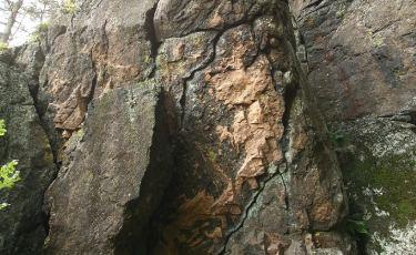 Skała Teściowej - Boczne Ścianki (Fot. mateo)