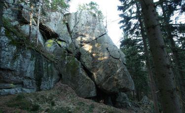 Skała Teściowej - Okap (Fot. mateo)
