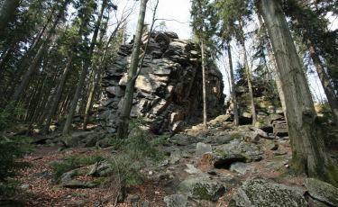 Skalna Brama na wzgórzu Trojak (Fot. mateo)