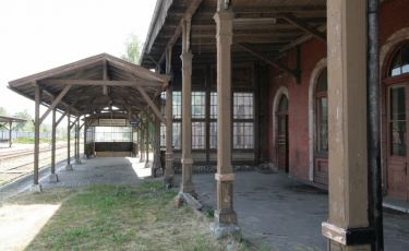 Stacja kolejowa Ścinawka Średnia (Fot. krystian)