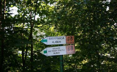 Szlakiem podziemi – trasa żółta Strefy MTB (Fot. krystian)