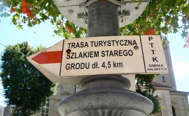 """Trasa turystyczna """"Szlakiem Starego Grodu"""" (Fot. krystian)"""