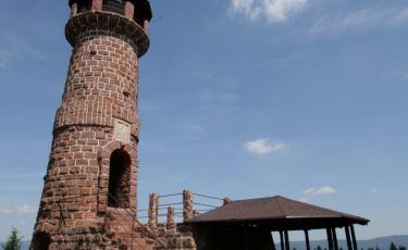 Wieża widokowa na Górze Wszystkich Świętych (Fot. krystian)