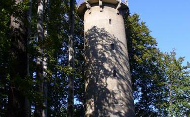 Wieża na Wzgórzu Krzywoustego tzw. Grzybek. (Fot. TraumTeufel666/flickr Licencja: CC BY-SA 2.0)