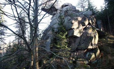 Wiszący Kamień - Fajka (Fot. aga)