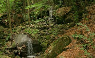 Wodospady Pośny (Fot. krystian)